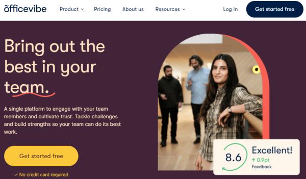 Online HR Software - Officevibe