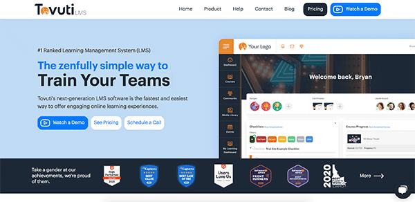 Online Course Building Software - Tovuti LMS