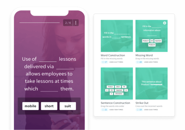 Elearning Mobile App - EdApp - Gamification