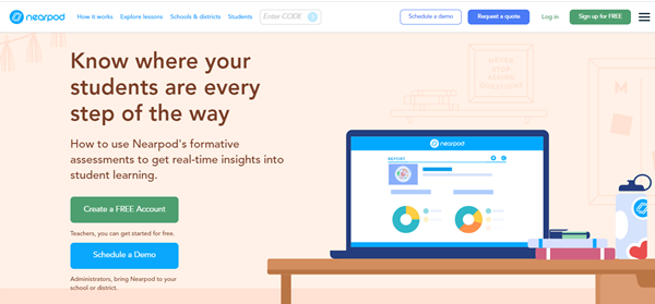 Quiz Software – Nearpod