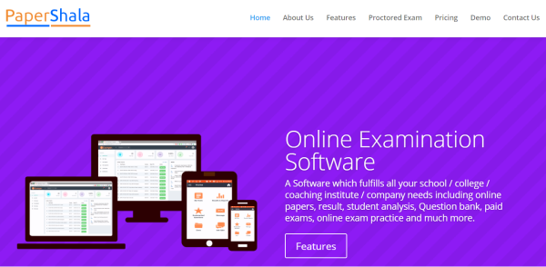 Quiz Software – PaperShala