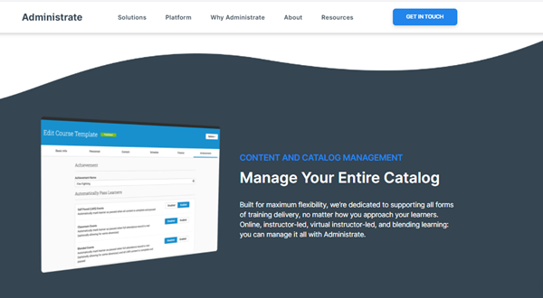 Onboarding Software - Administrate