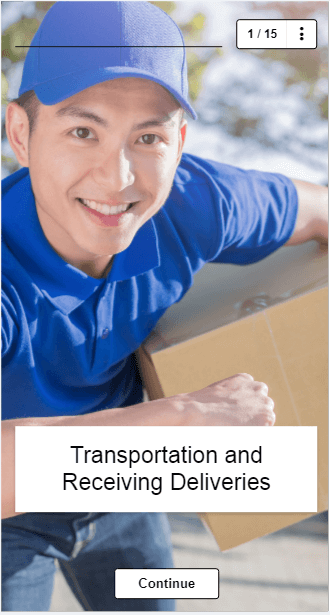 EdApp Food Hygiene Online Training Course - Food Delivery and Storage