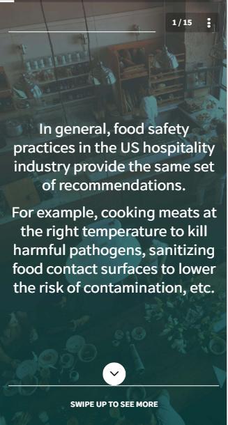 EdApp Food Hygiene Online Training Course - Food Safety Standards