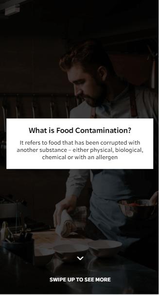 EdApp Food Hygiene Online Training Course - Food Contamination