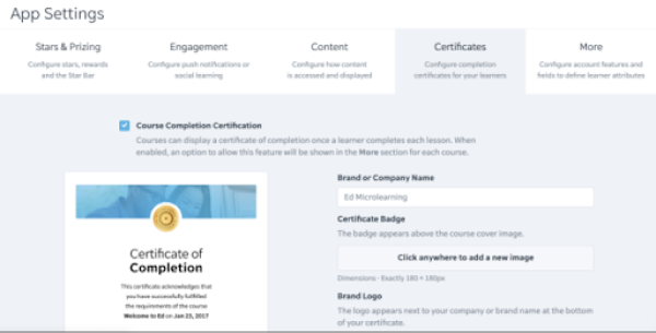 Certification Management Software - EdApp - Certification