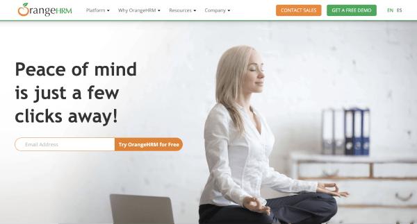 HR Software Solutions – OrangeHRM