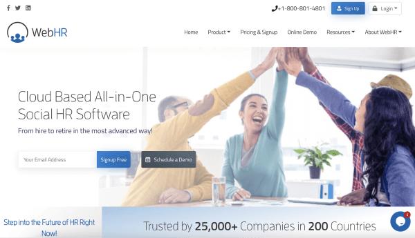 HR Software Solutions – WebHR
