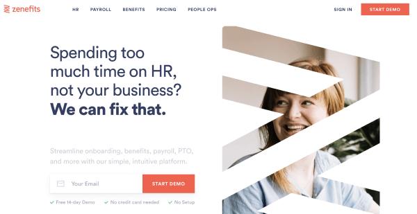 HR Software Solutions - Zenefits