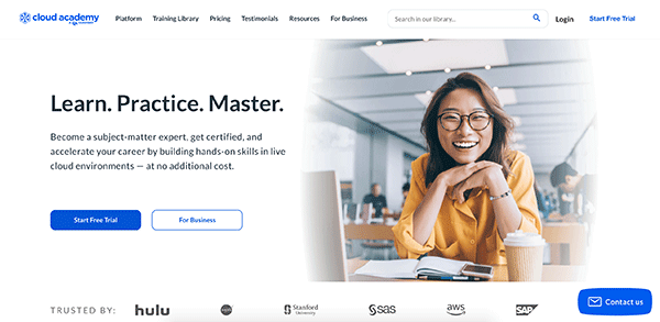 Learning Site - Cloud Academy