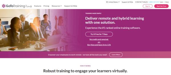 Learning Site - GoToTraining