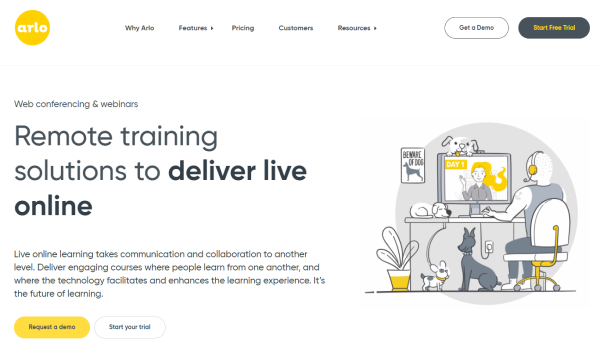 Learning Site - Arlo