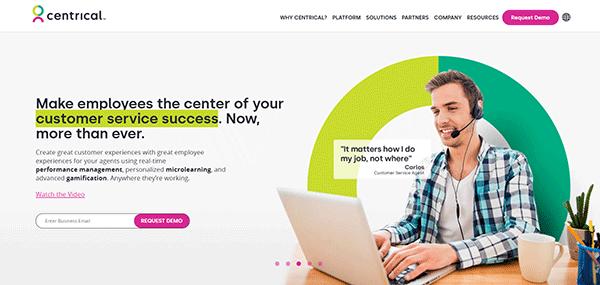 Game based learning platform - Centrical