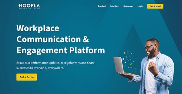 Game based learning platform - Hoopla
