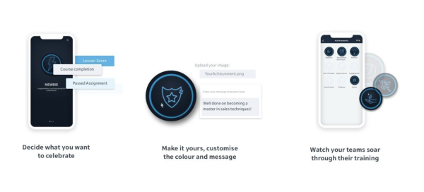 Game based learning platform - EdApp achievements