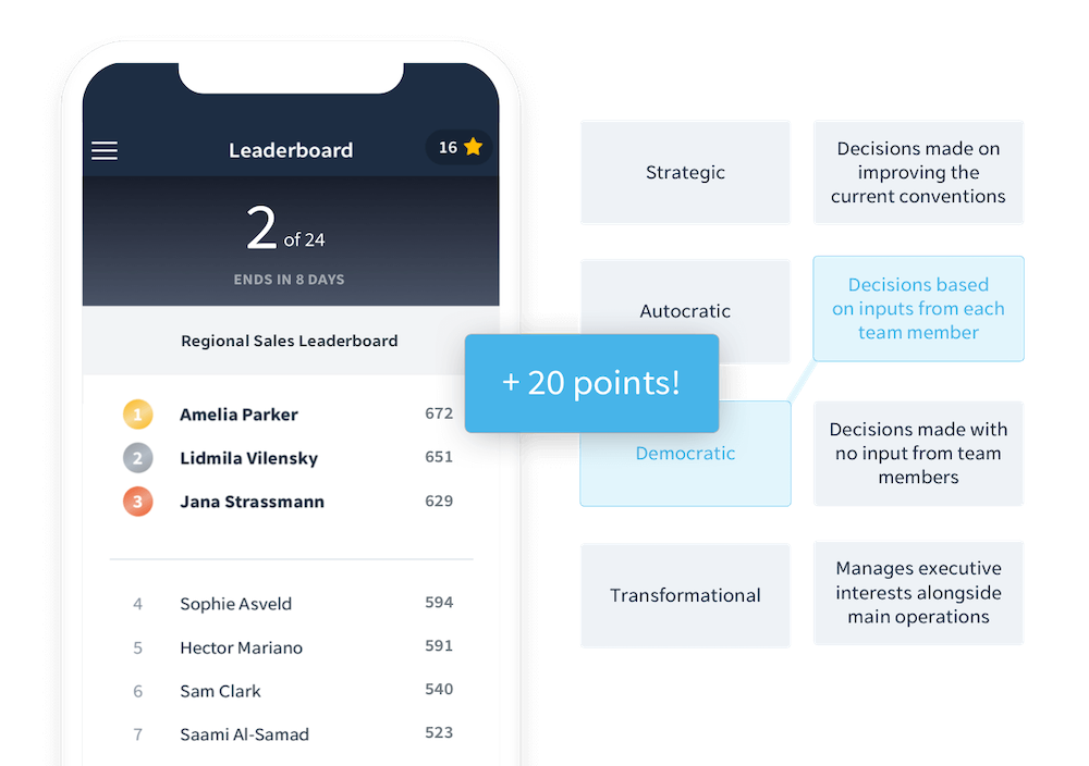 Employee Reward and Recognition with EdApp Leaderboards
