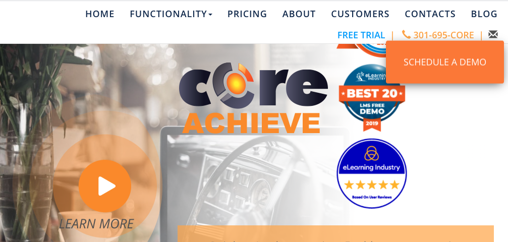 LMS Training Software - CoreAchieve