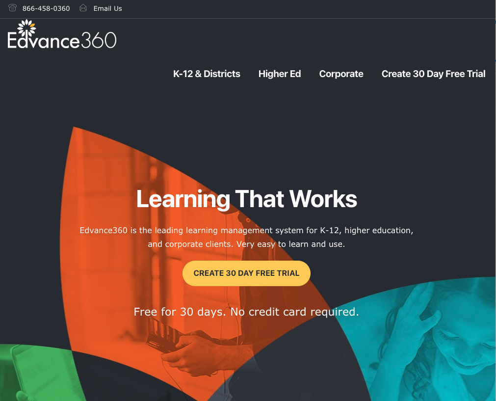 Edvance LMS Software