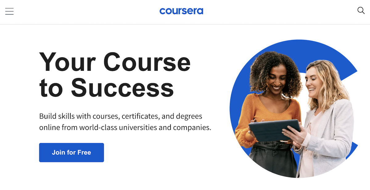 Learning Experience Platform Coursera