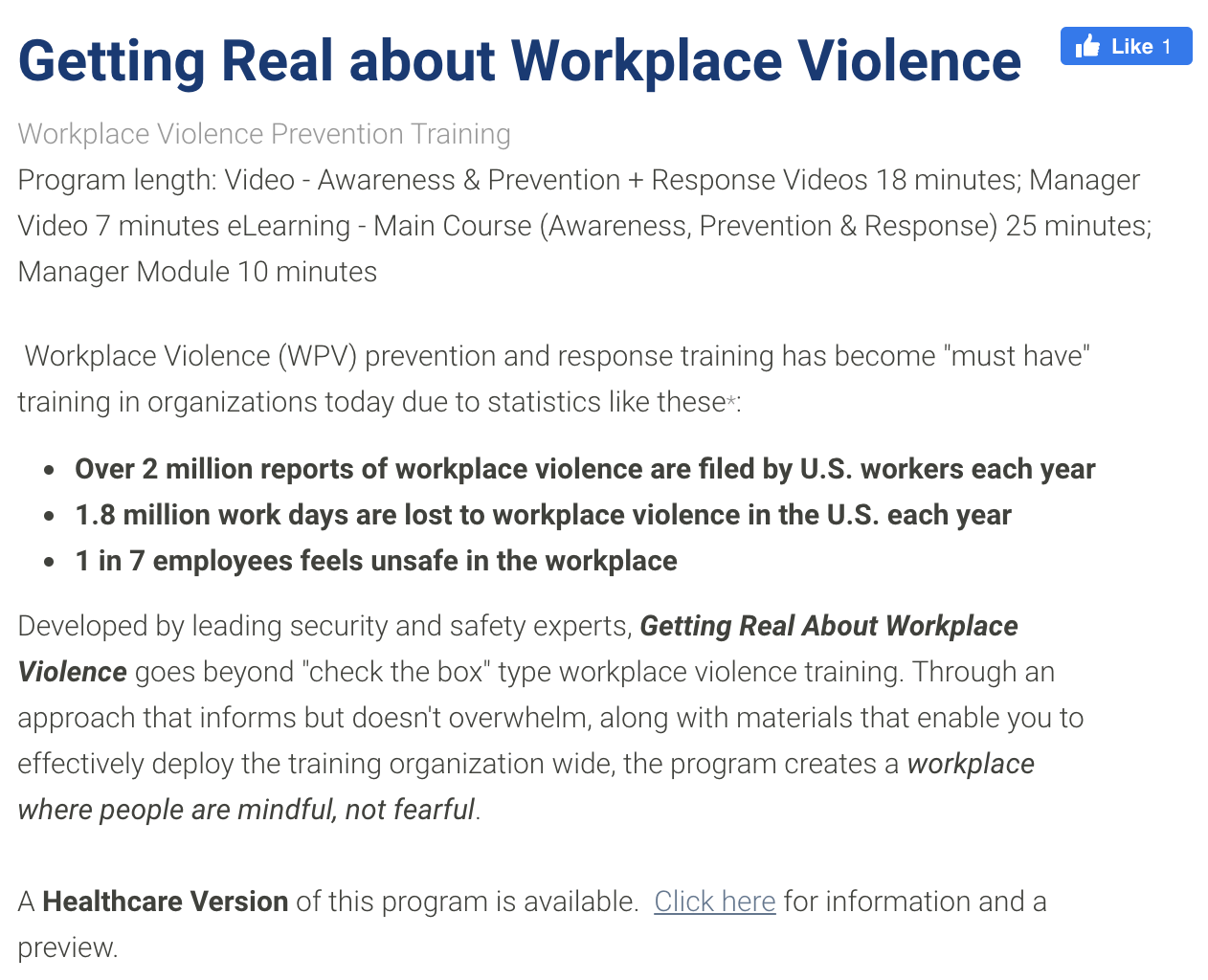 Workplace Violence Prevention Training Course - Getting Real About Workplace Violence from Media Partners