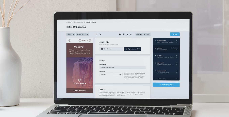 Asynchronous Learning Platform - EdApp Authoring Tool