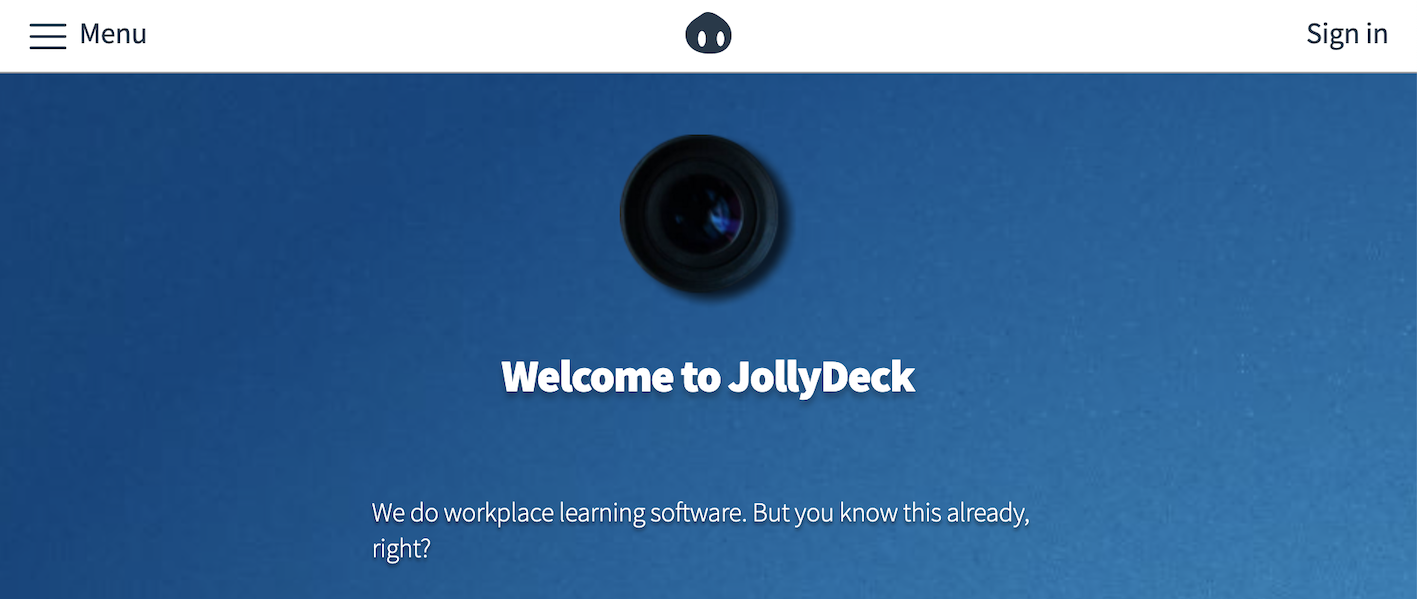 Learning Suite - JollyDeck