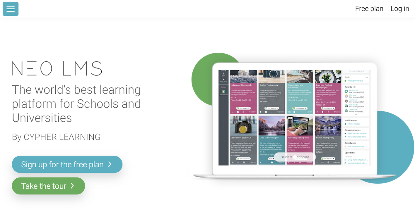 NEO LMS Learning Suite