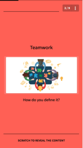 nudge theory and learning tools - be a team player