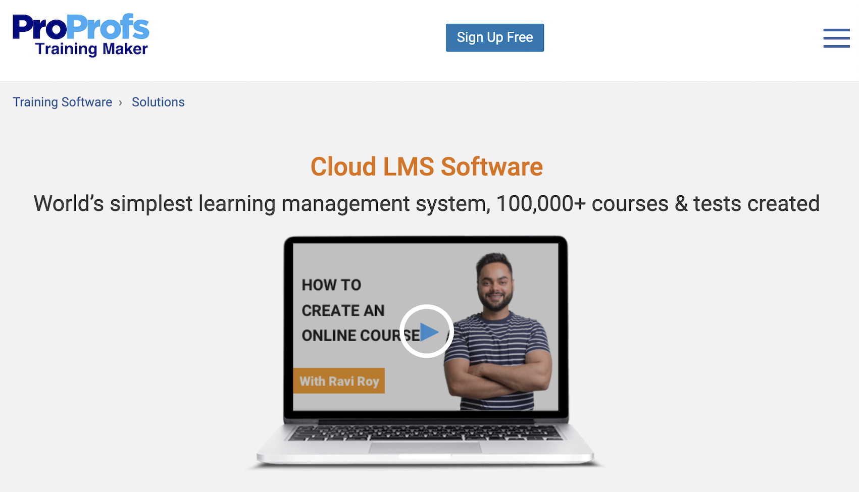 Proprofs Learning Suite