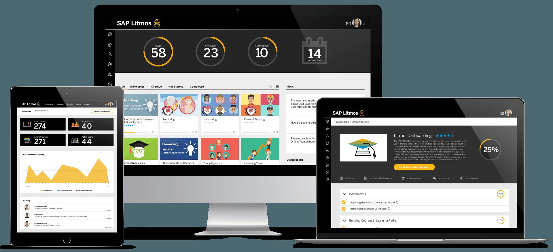 Free Learning Software - SAP Litmos