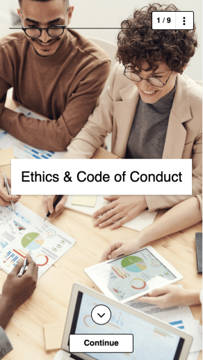 Soft Skills Training Program - Ethics and Code of Conduct