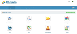 free learning management system for teachers - Chamilo