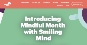 Free tech tools for teachers - Smiling Mind