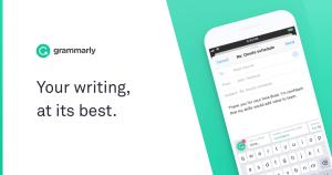 Free Educational App - Grammarly