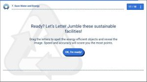 Is Gamification Effective - Letter Jumble