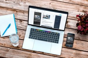 Elearning Development - Desktop Lesson DIsplay
