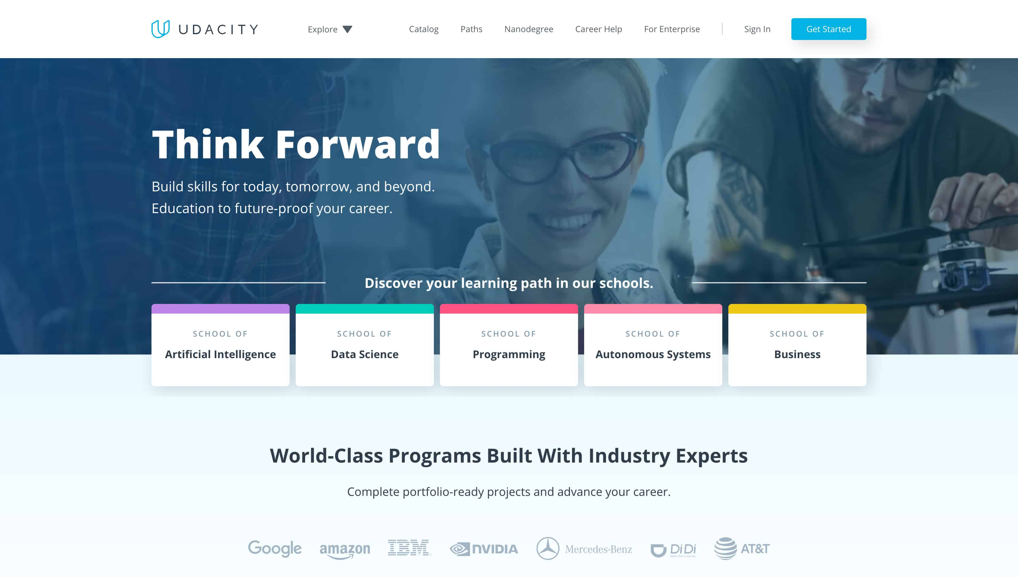 Website For Training -  Udacity