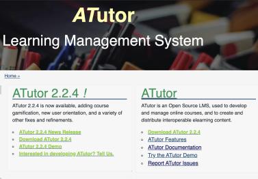 ATutor Blended Learning Solution