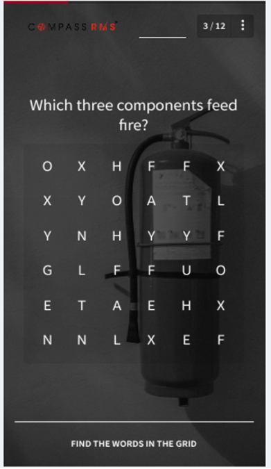 e-learning template #9 - Find-a-word Game Template