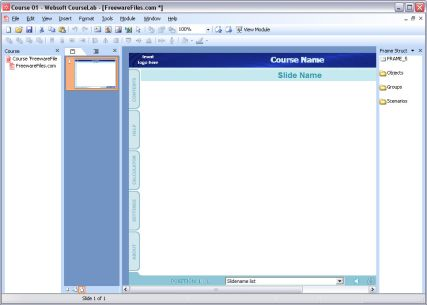 Courselab Elearning Authoring Tool
