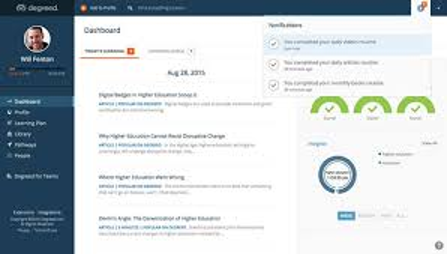 Learning Experience Platform Degreed