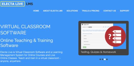 Electa Live Blended Learning Solution