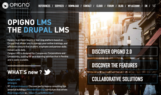 Opigno LMS Software