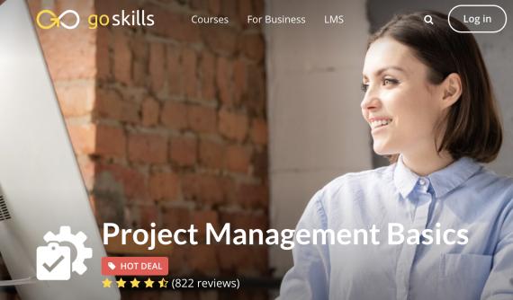Project Management Training Free - GoSkills
