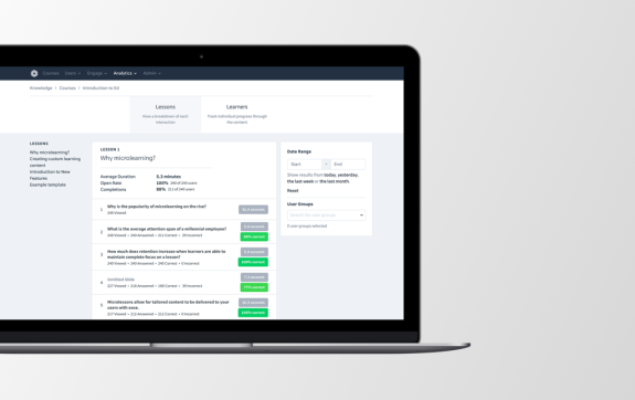 AI Based Learning Platform - Intelligent Monitoring & Reporting