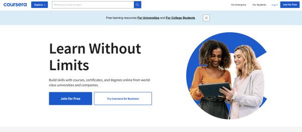 Online Course Platform - Coursera