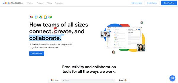 Best Virtual Classroom Software - Google Workspace
