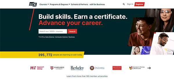 Free Online Learning Tool - edX