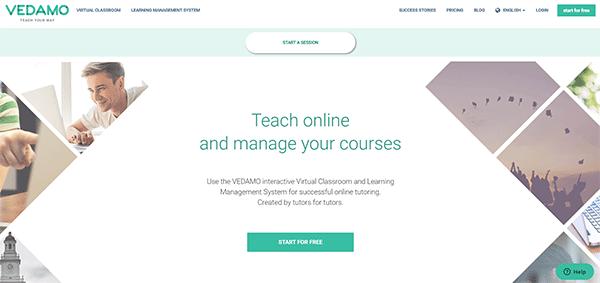 Online Classroom Platform - Vedamo