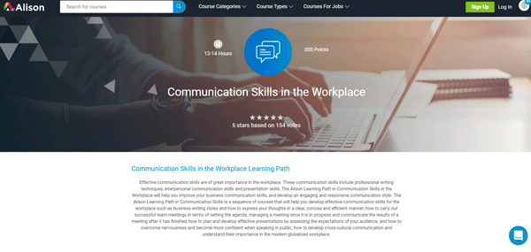 course to improve your business communication skills